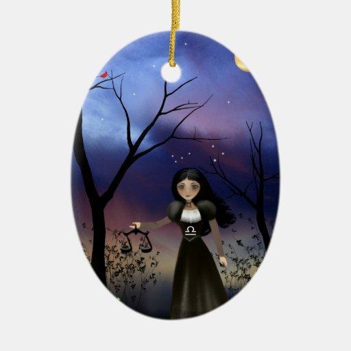 Libra - Zodiac Girls - Ornament