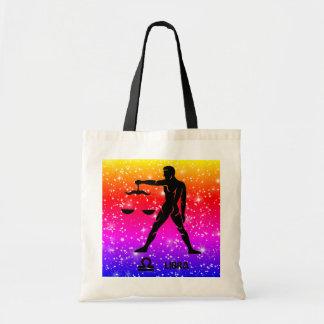Libra Zodiac Modern Tote Bags