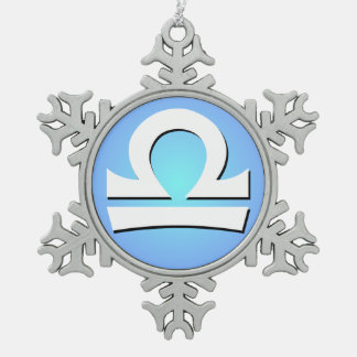 Libra Zodiac Ornament