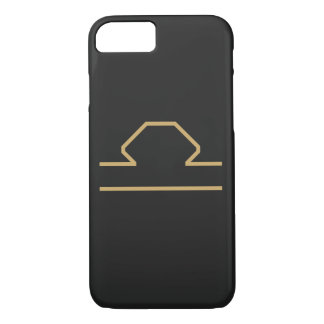 Libra Zodiac Sign Basic iPhone 7 Case