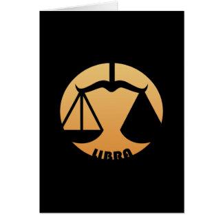 Libra Zodiac Sign Cards