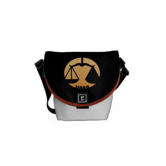 Libra Zodiac Sign Messenger Bags