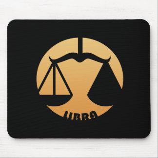 Libra Zodiac Sign Mouse Pads