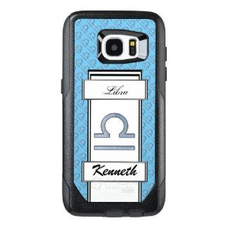 Libra Zodiac Symbol Element by Kenneth Yoncich OtterBox Samsung Galaxy S7 Edge Case