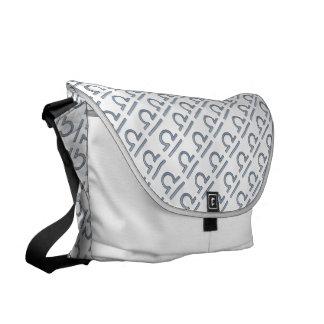 Libra Zodiac Symbol Element Courier Bag