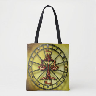 Libra Zodiac Tote Bag