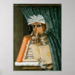 Librarian by Giuseppe Arcimboldo Poster