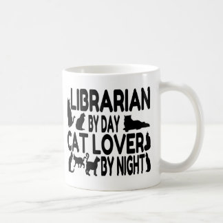 Librarian Cat Lover Coffee Mug