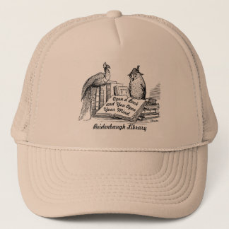 Librarian Gift! Volunteer Gift! Library Lover Trucker Hat