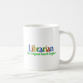 Librarian Original Search Engine Basic White Mug