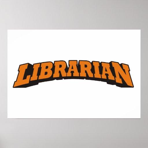 Librarian Print