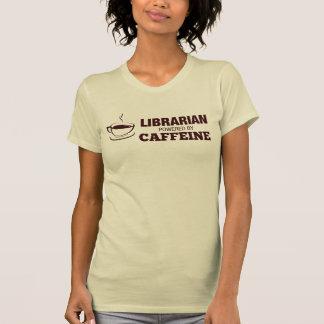 Librarian Powered By Caffeine T-Shirt