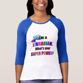 Librarian Super Power T-Shirt