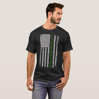 Librarian U.S. Flag T-Shirt