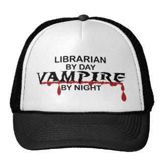 Librarian Vampire by Night Mesh Hat