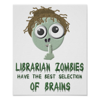 Librarian Zombies - Poster