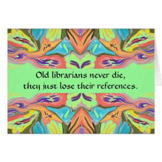 librarians humor card