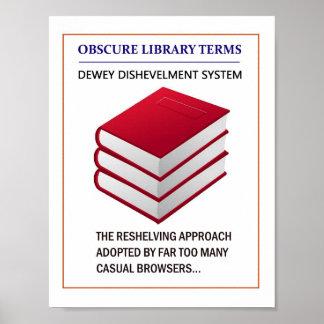 Librarian's Reminder Poster