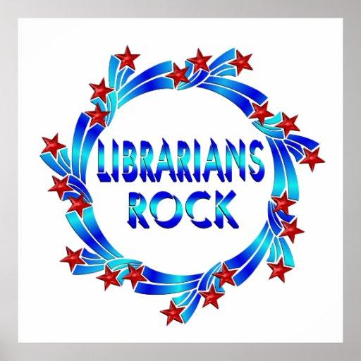 Librarians Rock Poster