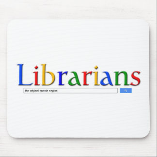 librarians the original search engine mouse pad