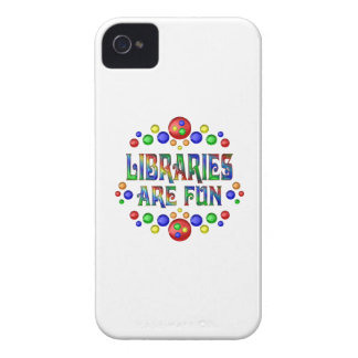 Libraries are Fun Case-Mate iPhone 4 Cases