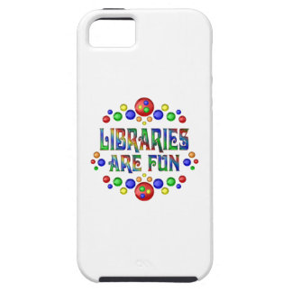 Libraries are Fun iPhone 5 Cases
