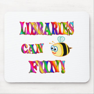 Libraries are Fun Mouse Pad