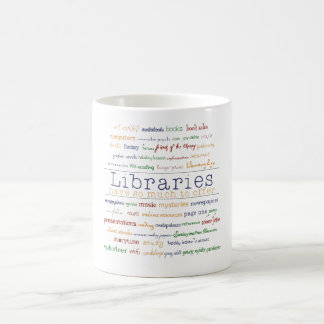 Libraries Coffee Mug