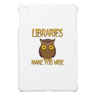 Libraries Make You Wise Cover For The iPad Mini
