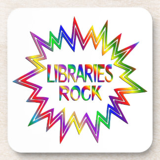 Libraries Rock Coaster