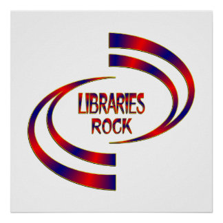 Libraries Rock Poster