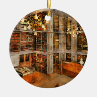 Library - A literary classic 1905 Ceramic Ornament