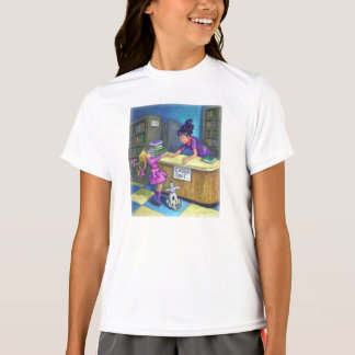 Library Check Out Artwork T-Shirt