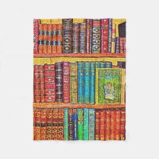 Library Fleece Blanket