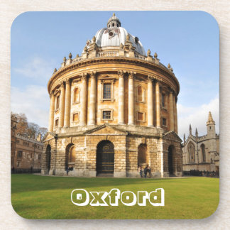 Library in Oxford, England Coaster