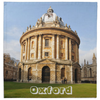 Library in Oxford, England Napkin