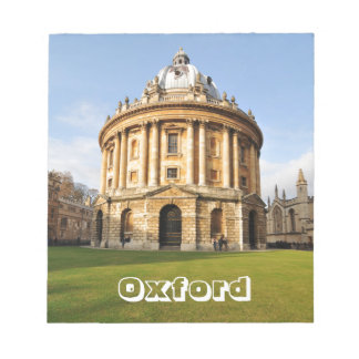 Library in Oxford, England Notepad