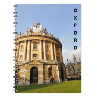 Library in Oxford, England Spiral Notebook