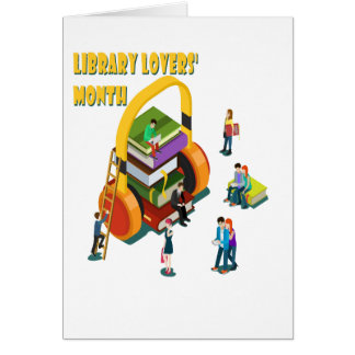 Library Lovers' Month - Appreciation Day Card