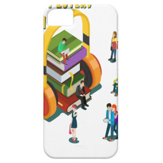 Library Lovers' Month - Appreciation Day iPhone 5 Cover