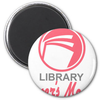 Library Lovers' Month - Appreciation Day Magnet