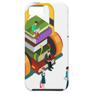 Library Lovers' Month - Appreciation Day Tough iPhone 5 Case