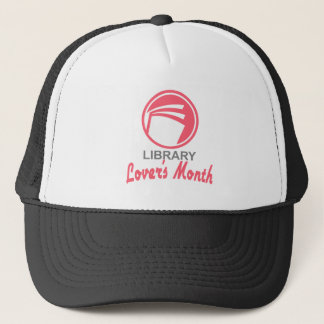 Library Lovers' Month - Appreciation Day Trucker Hat
