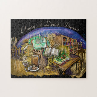 Library of Living Dreams Jigsaw Puzzle