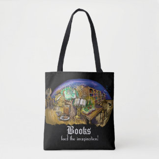 Library of Living Dreams Tote