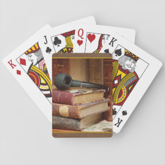 Library Pipe Playing Cards - Standard
