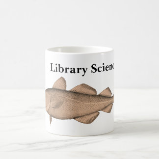 Library Sciencer with Cod Mug