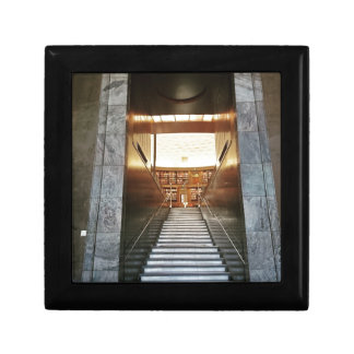 Library staira small square gift box