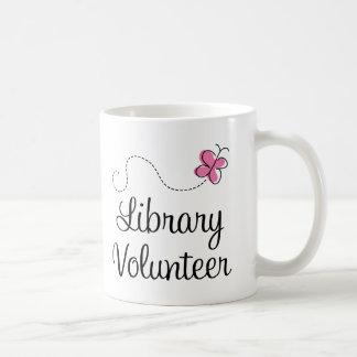 Library Volunteer Basic White Mug