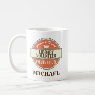 Library Volunteer Personalized Office Mug Gift